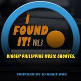 I FOUND IT!  vol.3 Diggin' Pinoy music grooves- Dj Arbie Won.mp3