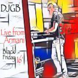 Dj Gary Braner - Live From Armani (Black Friday 16' Edition)