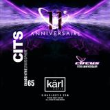 dj karl k-otik - chaos in the stratosphere episode 065 - circus 11th anniversary