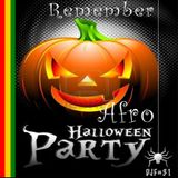 Remember Afro Halloween Party