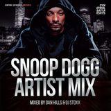 Dan Hills & DJ Stoxx - Snoop Dogg Mixtape (7th June @ Control, Leeds)