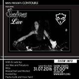 Jen Mas live on Contours at WNYU radio, 89.1FM in NYC - July 31, 2016