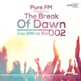 Robert R. Hardy - The Break Of Dawn 002 [July 29-31 2016] on Pure.FM