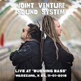 Joint Venture Sound System live at 'Burning Bass', Warszawa, K 55, 11-01-2018