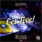 """""""Get five!"""" - Big Liver Place bar mix"""