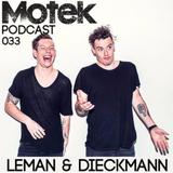 Motek Podcasts 033 - Leman & Dieckmann