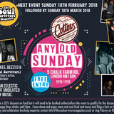 Fitz's Valentine Luv pre mix for Any Old Sunday 18th Feb at Cottons Camden 18th Feb 2018 Mix