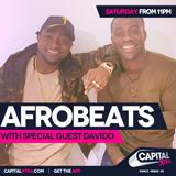 Afrobeats on Capital XTRA - Sat 8th October *DAVIDO Take-Over*
