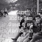 AXEL BOMAN MIX  FOR  MATHIEU SCHREYER X KCRW