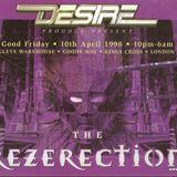 Ellis Dee and MC Krayz B Desire 'Rezerection' 10th Apr 1998