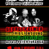 DUB IT PARTY! 22.11.2014 / GEORGE PALMER meets IRIE LION SOUND