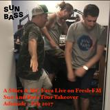 A Sides & MC Fava Live on Fresh FM Adelaide - Sun And Bass Tour Feb 2017
