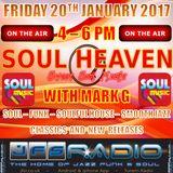 SOUL HEAVEN WITH MARK G ON JFSR #8: FRIDAY 20TH JANUARY 2017