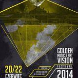 Dariush Crusher - Golden Vision Music & Art Festival 2014 (Huta Uthemanna, Katowice 22.06.2014)