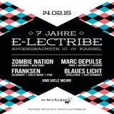 Blaues Licht @ 7 Jahre e-lectribe - Club e-lectribe Kassel - 14.02.2015