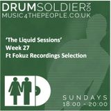 Liquid Sessions 27 (ft Fokuz Recordings selection)