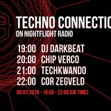 Chip Verco exclusive guest mix Techno Connection on Nightflight Radio 09/02/2018