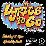 Quest Lyrics To Go Hip Hop Show November 19th 2016