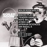 Maceo Plex - live at Boiler Room, Berlin - 17th September 2014