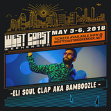 Bamboozle aka Eli Soul Clap - recorded live from the terrace at Space Miami