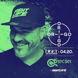 2018.04.20. - Szecsei b2b Jackwell - ORIGO - LIGET Club, Budapest - Friday