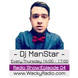 Dj ManStar Wacky Radio Show: Episode 04