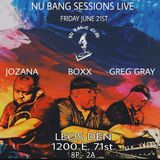 Greg Gray Live at Nu Bang Sessions (Leo's Den - Chicago) 6-21-19