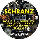Mario Ranieri @ Schranz Festival, Baby O, Ilz (Austria) 24.03.2012