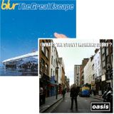Vintage - Blur - The Great Escape y Oasis - (What´s the Story) Morning Glory?