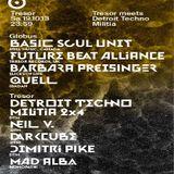 Darkcube @ Tresor Meets Detroit Techno Militia - Tresor Berlin - 19.10.2013