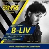 @SONART Radio Show / Guest mix by B-Liv / Part 1 - 07.14.2016