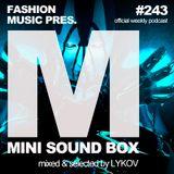 Lykov – Mini Sound Box Volume 243 (Weekly Mixtape)