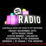 onelove radio 20th November 2015