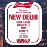 Roger Sanchez@ Boiler Room x Budweiser  [New Delhi] 09.05.17