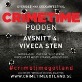 Crimetimepodden: Viveca Sten