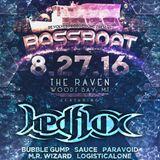 Live @ Bassboat feat Hedflux, August 2016