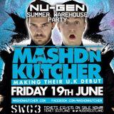 Digitized May mix - MASHD 'N' KUTCHER Promo mix June 19th @ SWG 3 Glasgow