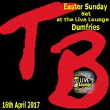 TeeBee's Easter Sunday Set at the Live lounge Dumfries 16th April 2017.