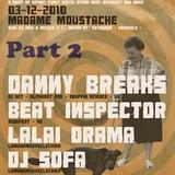 Beatinspector @ Madame Moustache Brussels 2010.12.03. part 2