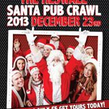 DJ Lee Morrison & Daniel Gale - Heswall Santa Pub Crawl 2013 LIVE