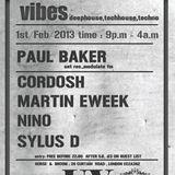Martin Eweek @ Underground Vibes Party 1st February 2013