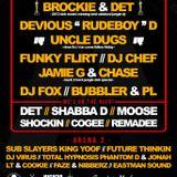 DJ Brockie & MC Det - Time Rewind - Brixton Jamm - 22.3.13