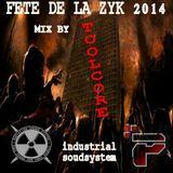 """mix réalisé lors de la fête de la musique 2014 sur le mur des """" Radiation/Protonik/Industrial """""""