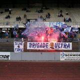 12 minutes au stade de l'ill avec la BU88 - Club des supporters du FC Mulhouse depuis 1988