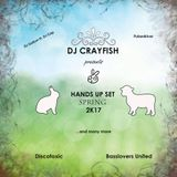 Dj Crayfish - Hands up set - Spring 2k17