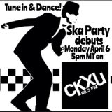 ska party FM show April 6