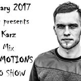 RAVE EMOTIONS RADIO SHOW (13RaVeR) - 25.01.2017. Gene Karz Guest Mix @ RAVE EMOTIONS