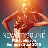 NCS Resident's Mix: Matt Johnson - Summer Soul 2015