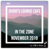 In The Zone - November 2019 (Guido's Lounge Cafe)