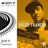 Rota 91 - 22/07/2017 - Guest Dj Diego Franchi
